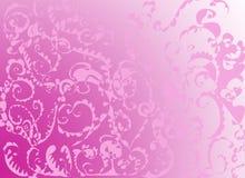 ροζ διακοσμητικών στοιχ& διανυσματική απεικόνιση