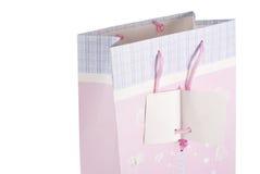 ροζ δώρων τσαντών Στοκ Φωτογραφία
