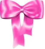 ροζ δώρων τόξων Στοκ εικόνα με δικαίωμα ελεύθερης χρήσης