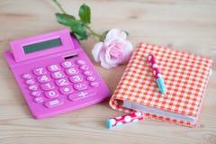 ροζ ειδοποίησης υπολ&omicron Στοκ Εικόνα