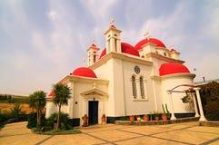 ροζ εκκλησιών Στοκ εικόνα με δικαίωμα ελεύθερης χρήσης
