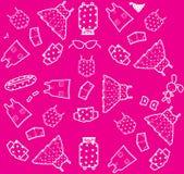 Ροζ ιματισμού υποβάθρου Στοκ Εικόνες