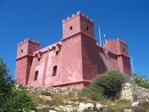 ροζ κάστρων Στοκ εικόνα με δικαίωμα ελεύθερης χρήσης