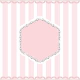 Ροζ και μαργαριτάρι Στοκ Εικόνες
