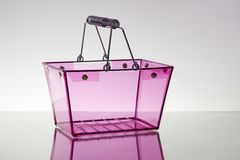 ροζ καλαθιών Στοκ φωτογραφία με δικαίωμα ελεύθερης χρήσης