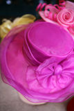 ροζ καπέλων Στοκ Εικόνες