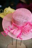 ροζ καπέλων Στοκ Εικόνα