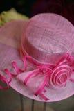 ροζ καπέλων Στοκ φωτογραφία με δικαίωμα ελεύθερης χρήσης