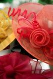 ροζ καπέλων Στοκ φωτογραφίες με δικαίωμα ελεύθερης χρήσης
