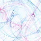 Ροζ καπνού υποβάθρου χρώματος - μπλε υπόβαθρο καπνού, σύννεφο καπνού Κορδέλλα καπνού Στοκ φωτογραφίες με δικαίωμα ελεύθερης χρήσης