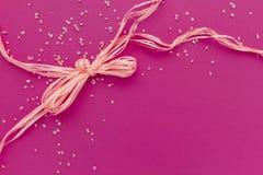 ροζ καρτών Στοκ εικόνα με δικαίωμα ελεύθερης χρήσης