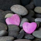 ροζ καρδιών Στοκ εικόνα με δικαίωμα ελεύθερης χρήσης