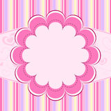 ροζ κατσικιών ανασκόπηση&sig Στοκ Φωτογραφία