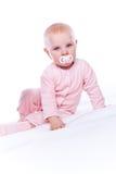 ροζ κοριτσακιών Στοκ φωτογραφία με δικαίωμα ελεύθερης χρήσης