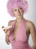ροζ κοριτσιών Στοκ Εικόνες