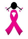 Ροζ κορδελλών για το women& x27 ημέρα του s Στοκ Εικόνες
