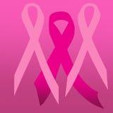 Ροζ κορδελλών για το women& x27 ημέρα του s Στοκ εικόνες με δικαίωμα ελεύθερης χρήσης