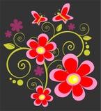 ροζ λουλουδιών πεταλ&omic ελεύθερη απεικόνιση δικαιώματος