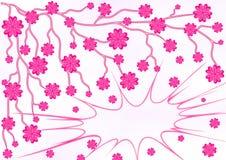 ροζ λουλουδιών ελεύθερη απεικόνιση δικαιώματος
