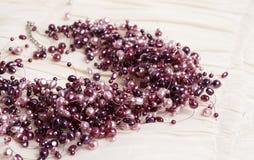 ροζ μαργαριταριών περιδ&epsilon Στοκ Φωτογραφίες