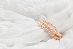 ροζ μαργαριταριών Στοκ Εικόνα