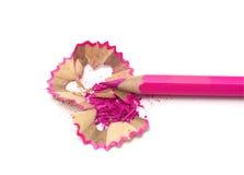 ροζ μολυβιών Στοκ Εικόνα