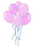 ροζ μπαλονιών Στοκ φωτογραφία με δικαίωμα ελεύθερης χρήσης