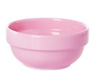 Ροζ πιάτων πιάτων Στοκ Εικόνες