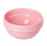Ροζ πιάτων πιάτων Στοκ Φωτογραφία