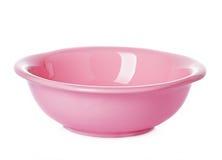 Ροζ πιάτων πιάτων Στοκ εικόνα με δικαίωμα ελεύθερης χρήσης