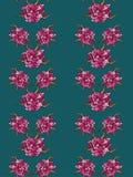 ροζ προτύπων λουλουδιώ&nu Στοκ εικόνες με δικαίωμα ελεύθερης χρήσης