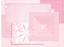 ροζ σύνθεσης διανυσματική απεικόνιση