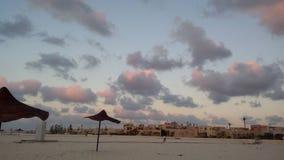 Ροζ σύννεφα Στοκ Εικόνες