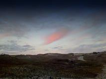 ροζ σύννεφων Στοκ εικόνα με δικαίωμα ελεύθερης χρήσης