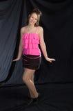 ροζ τζαζ χορευτών Στοκ Εικόνα