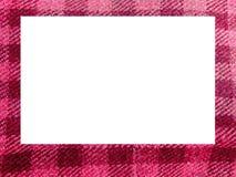 ροζ φωτογραφιών πλαισίων Στοκ φωτογραφία με δικαίωμα ελεύθερης χρήσης