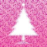 ροζ Χριστουγέννων Στοκ εικόνες με δικαίωμα ελεύθερης χρήσης