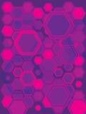 ροζ hexa Στοκ φωτογραφίες με δικαίωμα ελεύθερης χρήσης