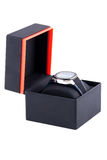 ρολόγια κιβωτίων Στοκ Φωτογραφία