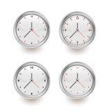 ρολόγια μοντέρνα Στοκ φωτογραφίες με δικαίωμα ελεύθερης χρήσης