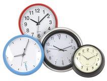 ρολόγια που απομονώνοντ&al Στοκ εικόνες με δικαίωμα ελεύθερης χρήσης
