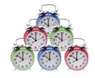ρολόγια συναγερμών Στοκ Φωτογραφίες