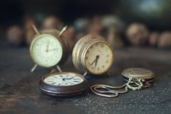 ρολόγια Στοκ Φωτογραφίες