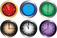 ρολόγια Στοκ φωτογραφίες με δικαίωμα ελεύθερης χρήσης
