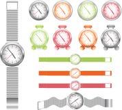 ρολόγια Στοκ Φωτογραφία