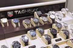 Ρολόγια TAG Heuer στοκ φωτογραφία με δικαίωμα ελεύθερης χρήσης
