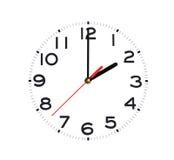 ρολόι ακριβώς Στοκ φωτογραφία με δικαίωμα ελεύθερης χρήσης