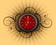 ρολόι αναδρομικό Στοκ Εικόνα