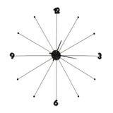 ρολόι απλό Στοκ εικόνες με δικαίωμα ελεύθερης χρήσης