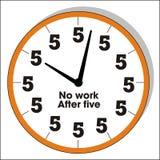 ρολόι αστείο Στοκ φωτογραφία με δικαίωμα ελεύθερης χρήσης